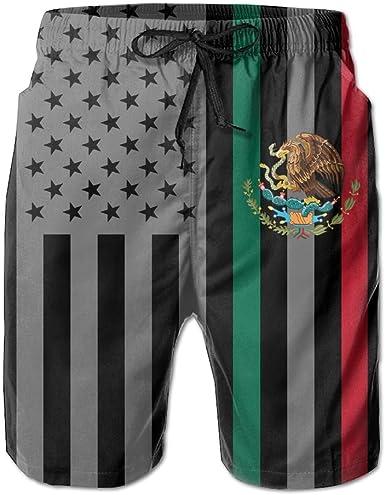 New York Flag Mens Lightweight Swimwear Board Short