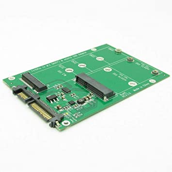 Laurelmartina Disco Duro USB 3.0 7 + 15 Pines a mSATA y NGFF M.2 ...