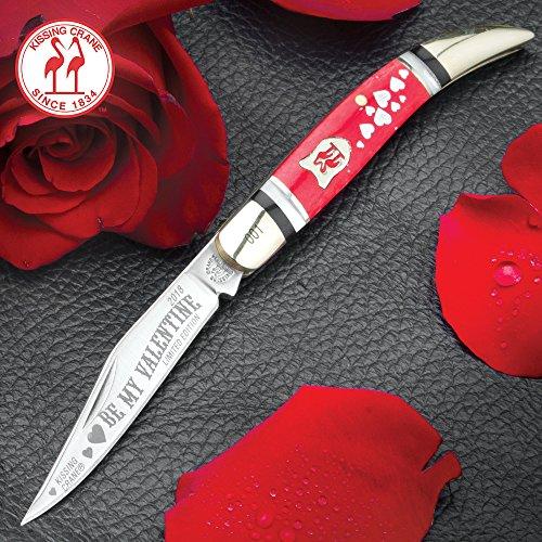 Kissing Crane 2018 Valentine's Day Toothpick Pocket Knife
