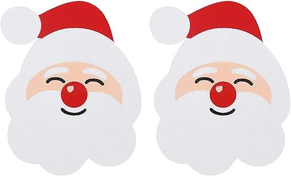 lijun Women Christmas Pasties Nipple Cover Glitter Cartoon Disposable Breast Stickers
