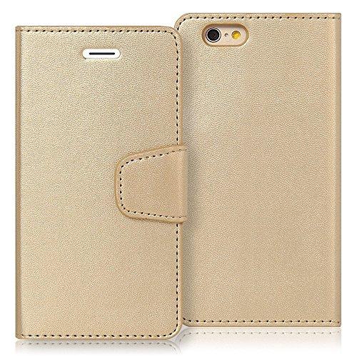 iPhone 5G/5S/5C/5SE Hülle - VENTER® Hülle Flip Cover iPhone Handy hüllen Ledertasche,Tasche, Leder Case für Apple iPhone 5G/5S/5C/5SE