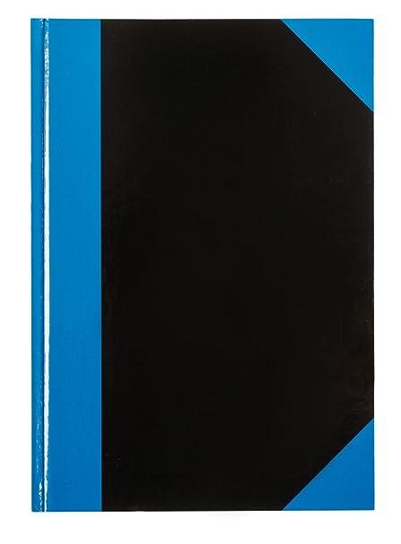 96 Blatt 70g//m² liniert schwarz Farbe Notizbuch DIN A6 Kladde