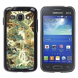 - Marijuana Kush Weed - - Monedero pared Design Premium cuero del tir¨®n magn¨¦tico delgado del caso de la cubierta pata de ca FOR Samsung Galaxy Ace3 s7272 S7275 Funny House