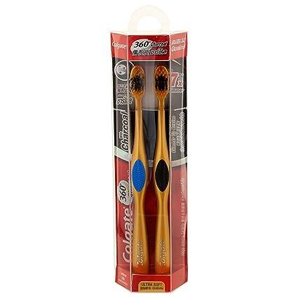 Pack de 1 cepillo de dientes Colgate 360 Sensitive Pro-Relief Extra Soft Oro Gris