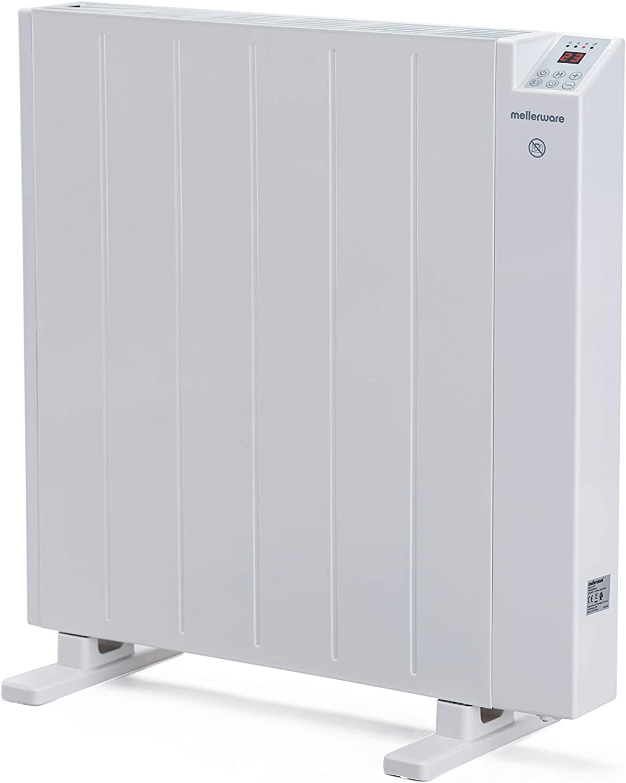 Mellerware - Emisor térmico bajo consumo, programable 3 Modos Calefactor eléctrico con sistema antivuelco y calefacción función ventana abierta. (Medium)