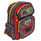"Sesame Street ELMO Red Small 12"" Backpack"