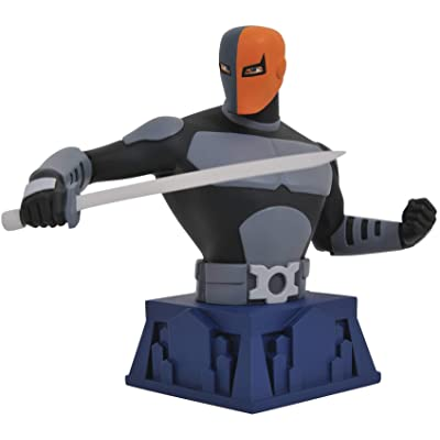 DIAMOND SELECT TOYS DC Animated Series: Beware The Batman Deathstroke Resin Bust: Toys & Games