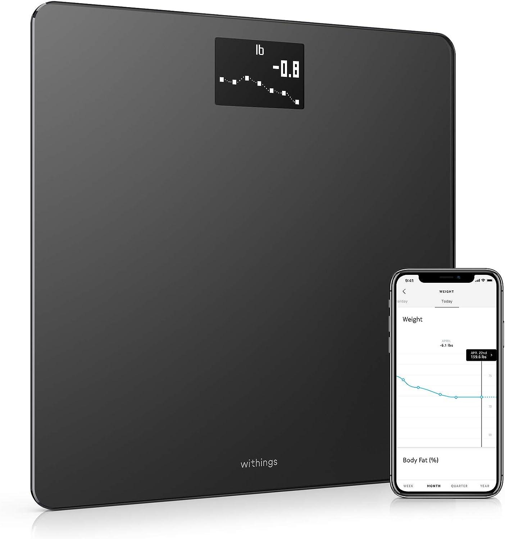Withings Body - Balance connectée WIFI avec suivi du poids et de...