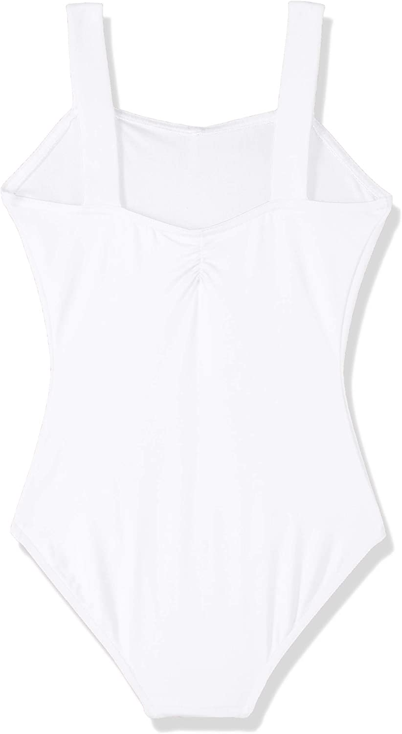Capezio Girls Tactel Collection Wide Strap Leotard