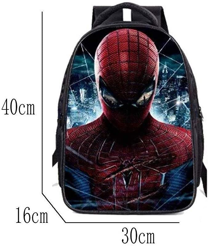 DL PACK Spiderman Mochila for niños, Muchacho de Peso Ligero ...