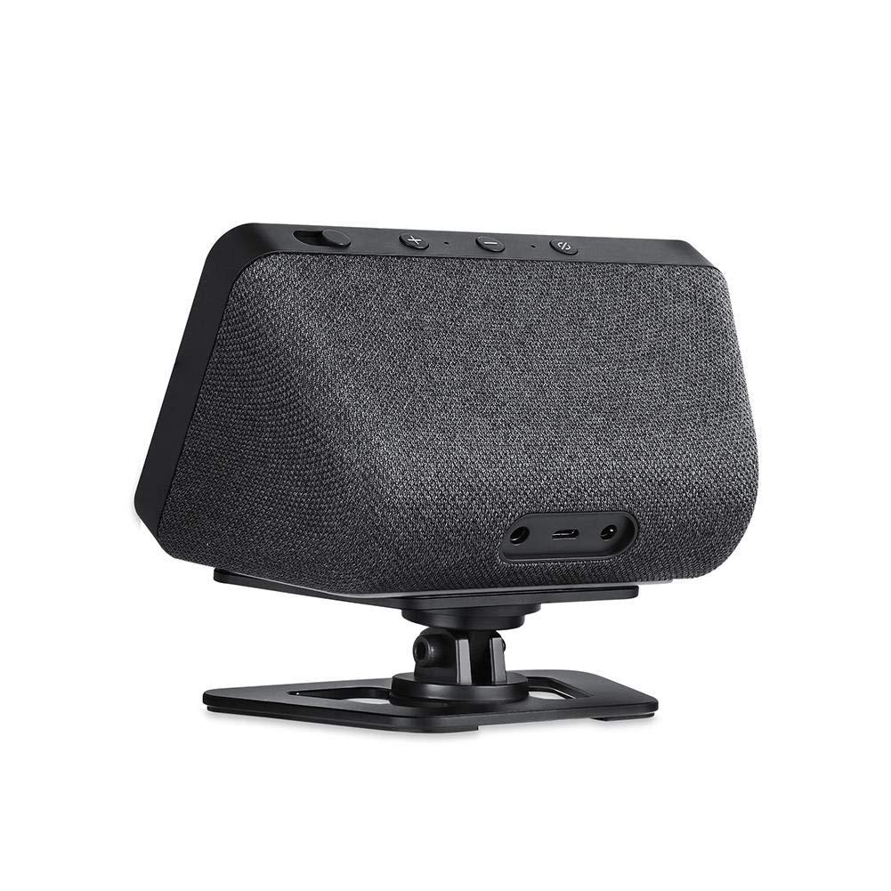 Lightcolor Verstellbare Standhalterung Tragbare Desktop-Tischhalterung Zubeh/ör Vollst/ändig aus Aluminium gefertigte rutschfeste Basis f/ür Echo Show 5 Smart Home-Sprachassistenten