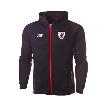 New Balance con Capucha AC Bilbao 2018-2019, Chaqueta, Black ...