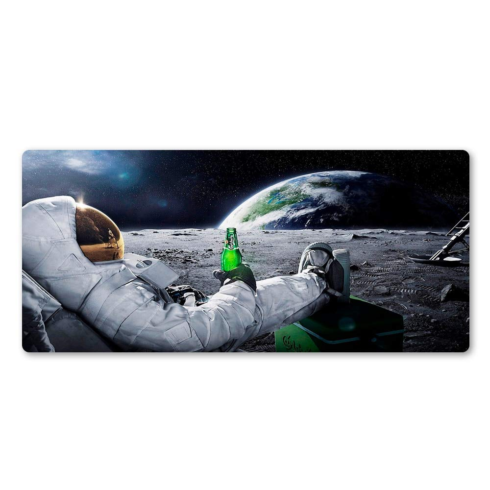 RQQSBD Mouse Pad Astronaut Space Sea Diver Anti-Slip Durable Computer Mats Rubber Pc Gaming Computer