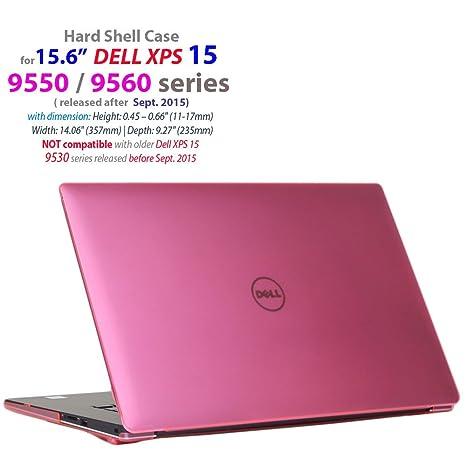 """mCover funda dura para la serie 15,6"""" Dell XPS 15 9560 / 9550"""