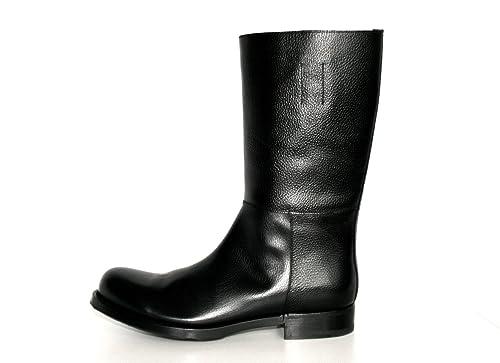 tienda de liquidación bd41b 07200 Prada - Botas de Piel para Hombre Negro Negro: Amazon.es ...