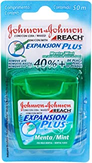Fio Dental Expansion Plus Menta, Reach, 50m