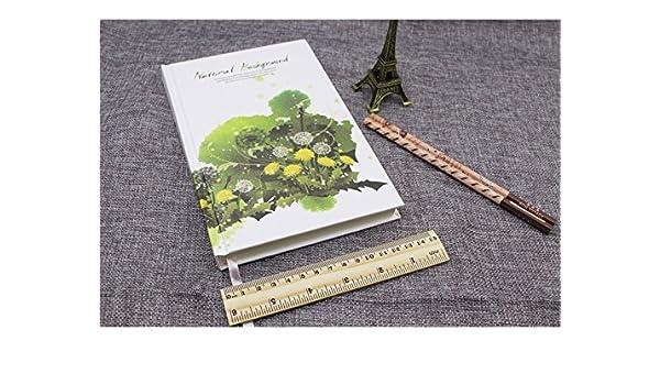 HNBGY Elegante Cuadernos y Diarios Escolares de la Agenda ...
