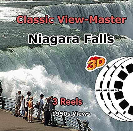 Niagara Falls New York And Canada 3 Viewmaster Classic Vintage 3d Reels