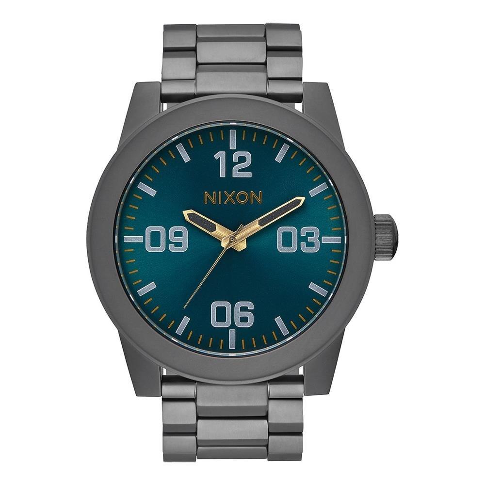 Nixon Reloj Analogico para Hombre de Cuarzo con Correa en Acero Inoxidable A346-2789-00