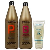 Salerm Protein Shampoo 1000ml + Balsam Conditioner 1000ml + 21 Leave in Conditioner...