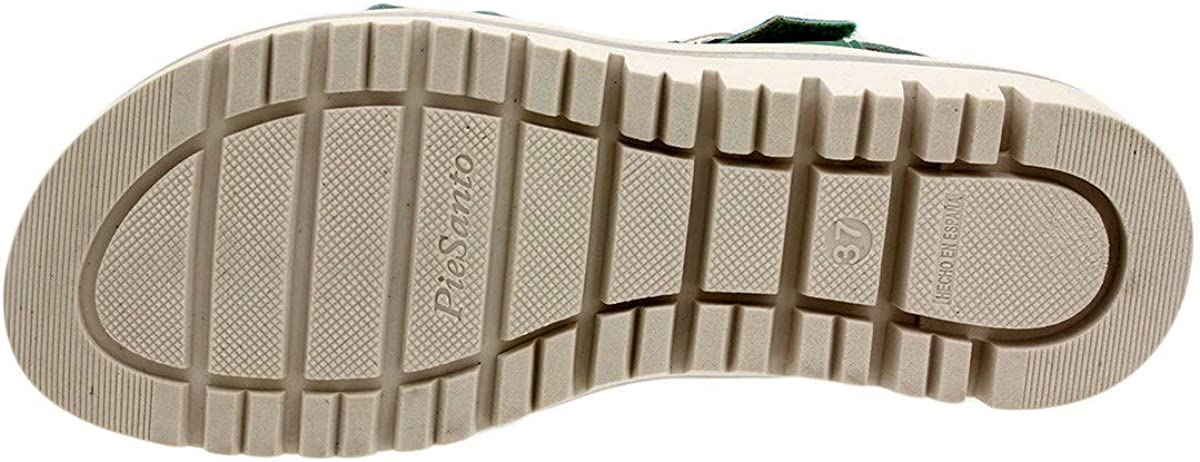 Zapato Cómodo Mujer 180786 PieSanto Ante V 18 Green 19640