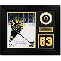 $203 » Brad Marchand Boston Bruins Signed Franchise Jersey Number 20x24 Frame - Autographed NHL Jerseys