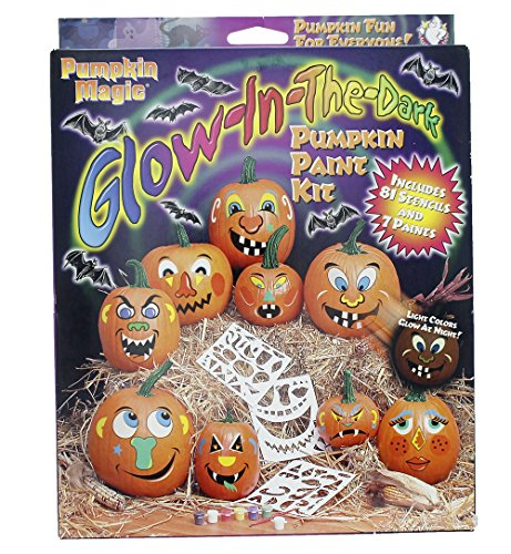 Glow In The Dark Pumpkin Jack O Lantern