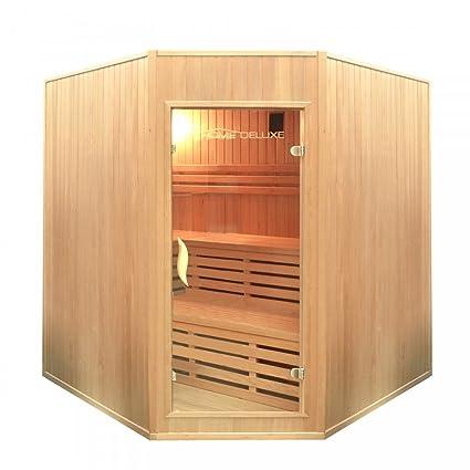 Home Deluxe | Sauna | Relax XL BIG | Incluye Harvia – Estufa para sauna y