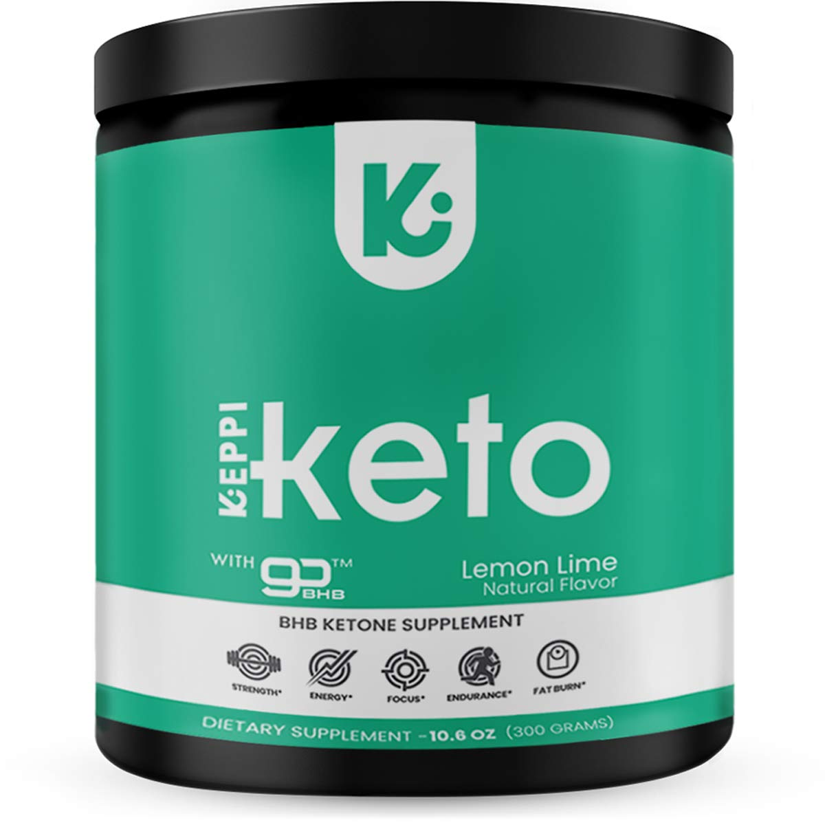 KEPPI Keto Exogenous Ketones Powder Supplement: Patented BHB Salts Formulated to Increase Energy, Burn Fat, Maintain Ketosis and Mental Focus on The Ketogenic Diet