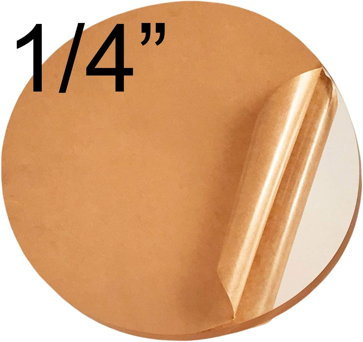25 Pcs of 1//8 0.118 Thick x 2.50 2 1//2 Diameter Acrylic Circle Disc Clear