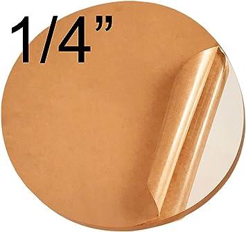 "7/"" INCH CIRCLE Gloss Black 1//8/"" Acrylic Plexiglass Plastic Disc Round Shape"