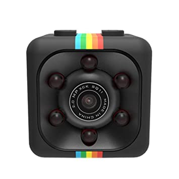 Juzie Cámara Mini, cámara de Seguridad Oculta pequeña portátil Full HD 1080P, cámara Micro