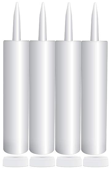 Amazon.com: Tubos vacíos de plástico para calabaza, 283 ml ...