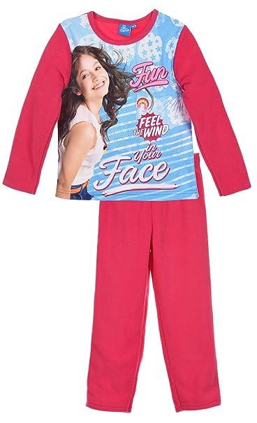 Soy Luna - Pijama - para niña rosa oscuro 6 años