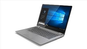 Lenovo Flex 14 2-in-1 Convertible Laptop, 14 Inch HD (1366 x 768) Touchscreen display, AMD Ryzen 3 2200U Processor, 4GB DDR4 RAM, 128GB PCIe SSD, Windows 10 Home, 81HA0008US, Black