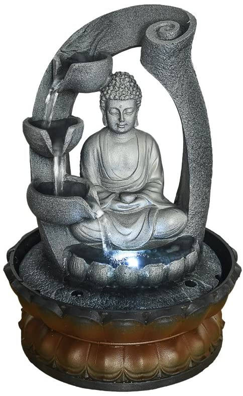 Fengshui Indoor Decoration – Zen Meditation Tabletop Decorative Waterfall