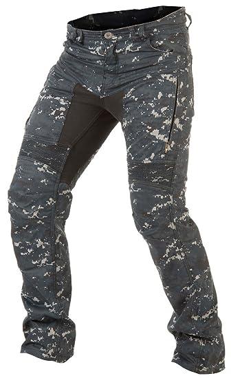 af9b3e3abd31 Trilobite Parado Jeans Digi Camo Herren Motorrad Hose Blau ...