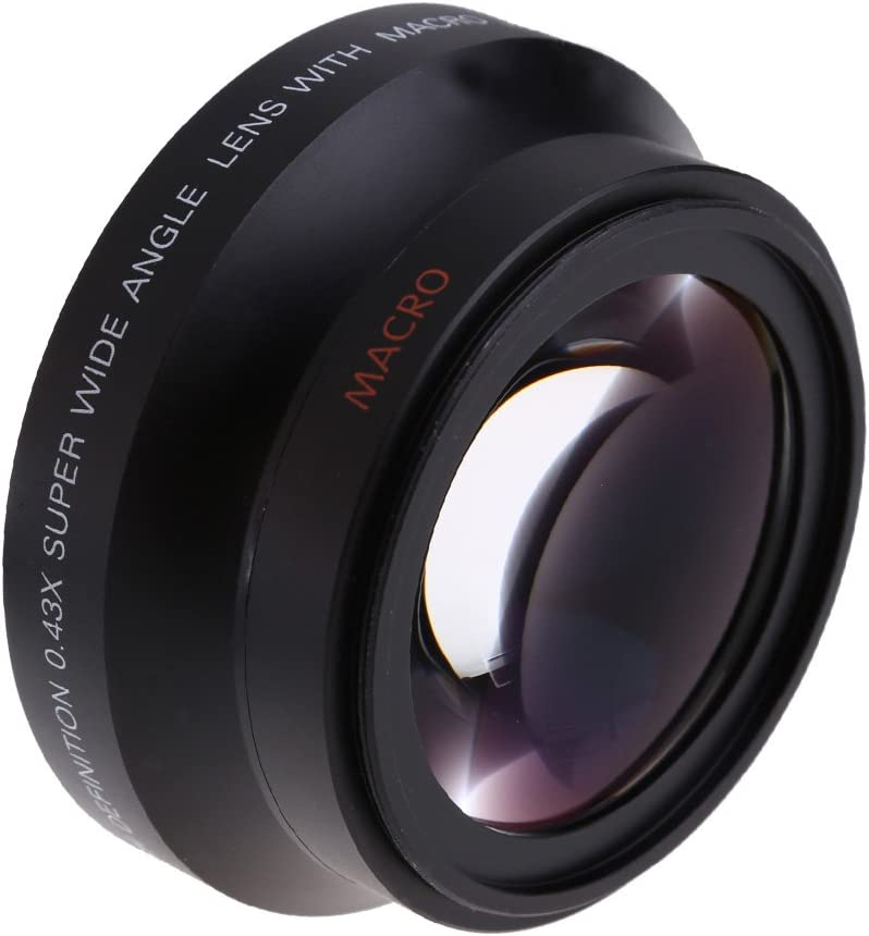 Almencla 72mm DSLR Camera Lens Close Up Macro Filter 2 Magnification for