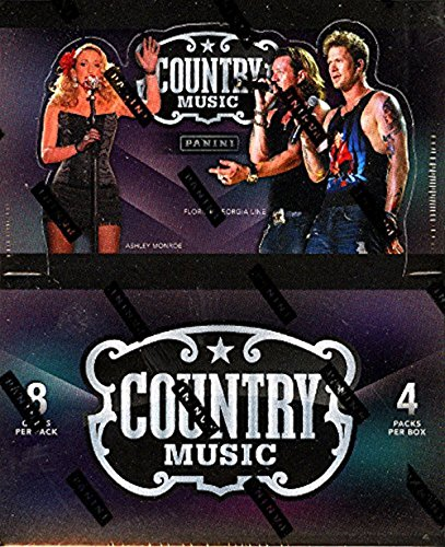 2014 Panini Country Music Hobby Box (4 PACKS/BOX, 8 CARDS/PACK, 4 autographs or memorabilia with at least 2 autos, 5 inserts, & 2 parallels per box) - In Stock!! from Panini Country Music
