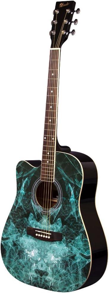 Lindo - Guitarra acústica de aprendizaje para zurdos (104 cm ...