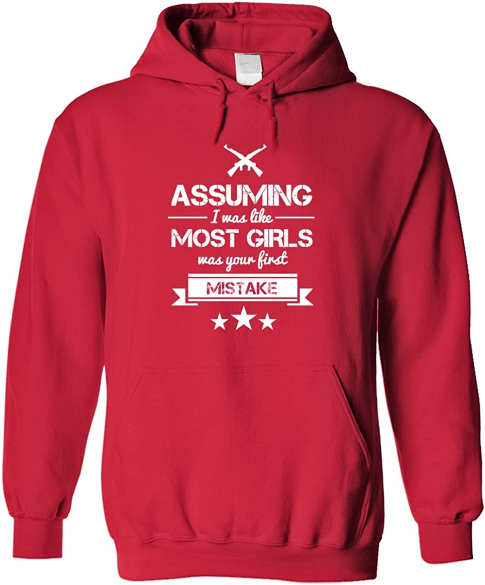 TEEPOMY Assuming I was Like Most Grandmas was Your First Mistake Unisex Hoodie