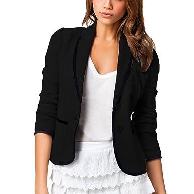 DELEY Mujeres Otoño Slim Fit Elegante Oficina Negocios Parte ...