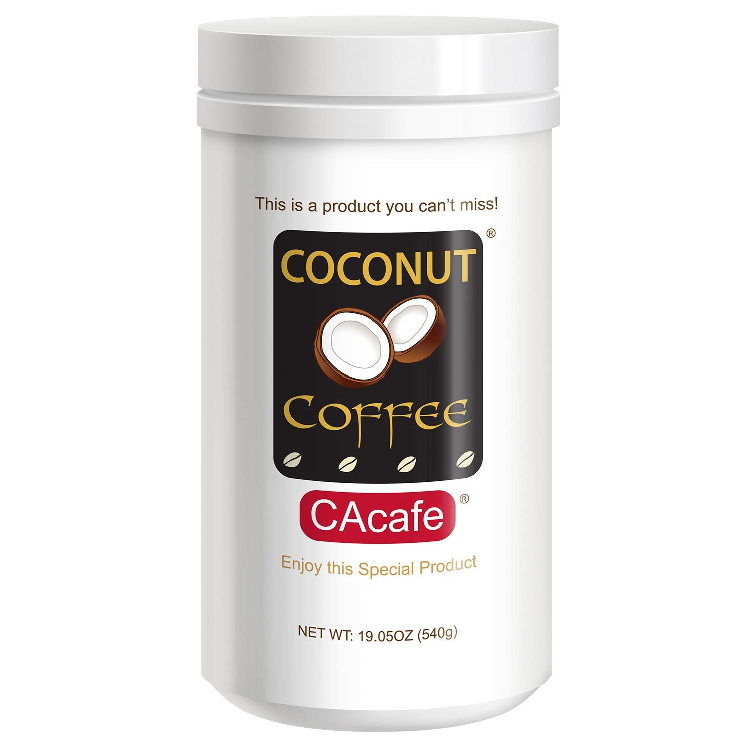 This is a Coconut Coffee You Can't Miss, Made from Coconut & Colombian Coffee. Coconuts Are Nutritious, Packed with Vitamins, & High In Antioxidants. Coconut is The World's Most Popular Superfood by CAcafe
