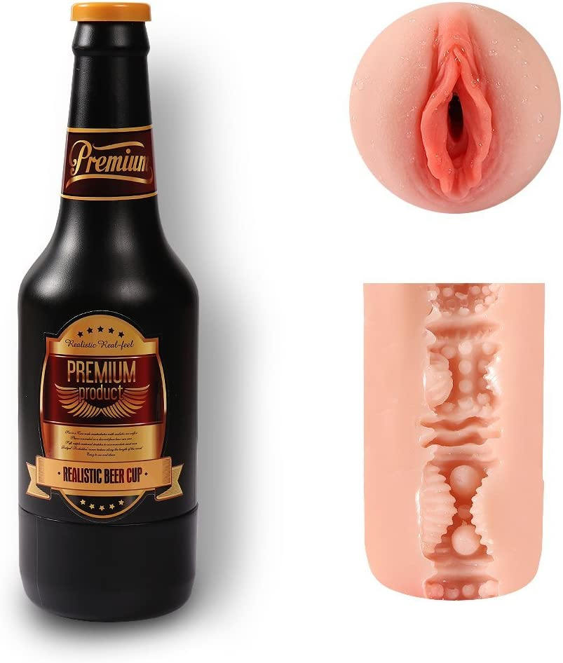 Pirate Bottle Silicone P/õck/ët P/üss/ý Kit Toy for Male Games|P/õck/ët-P/üss/ýs for Men|Oral Pussyfoot Cup for Pleasure|Great Idea for Man Gift|Privacy Package