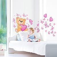 Wall Art, R00011 Orsetto Magico, Adesivo Murale Per Bambini, 40X100 Cm