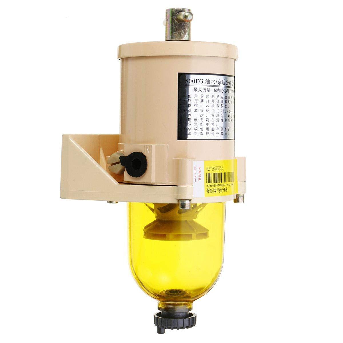 Kraftstoff 227L//H Racor Typ FG500 Dieselfilter f/ür LKW Wasserabscheider Au/ßenbord Marine