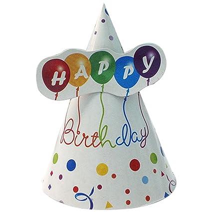 Party Propz Happy Birthday Cap Set Of 10 For Girlsboys Birthday
