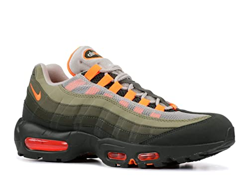 size 40 616d6 573ba Nike Womens Air Max 95 OG Lifestyle Hiking, Trail Shoes Green 6.5 Medium  (B,M)