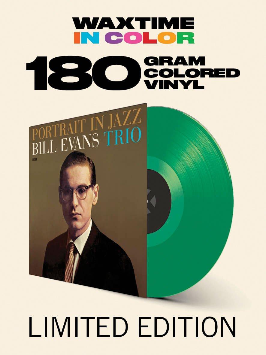 Vinilo : Bill Evans - Portrait In Jazz (180 Gram Vinyl, Limited Edition, Colored Vinyl, Green, Bonus Track)