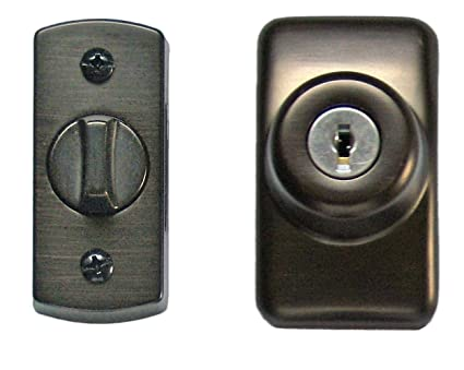 Nice Ideal Security SKGLKORB Storm And Screen Door Keyed Deadbolt, Oil Rubbed  Bronze